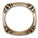 Squared Edges Ring in 14K Gold
