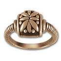 Striking Ring in 14k Gold