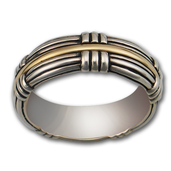 Artisans Ring in Silver & Gold