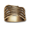 Gaudi Ring in 14k Gold
