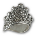 Gaudi Ring in Sterling Silver