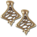 Gaudi Earrings in 14k Gold