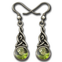 Celtic Earrings in sterling Silver