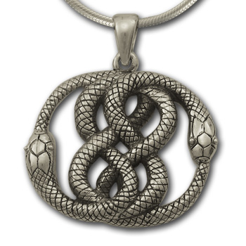 Auryn Pendant in Sterling Silver