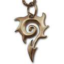 Flame Pendant in 14K Gold