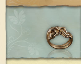 titanium rings - Wiccan Wedding Rings